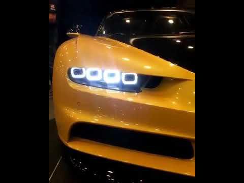 Bugatti Chiron headlights are insane ($2,400,000)