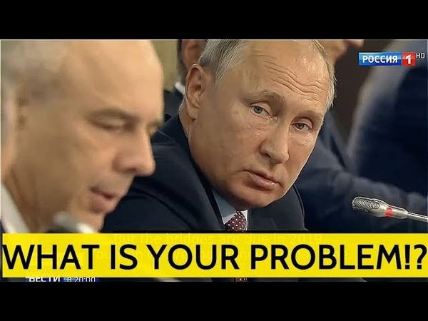 THE BOSS: Putin Roast Ministers On Russia's Far East Development, Demands Results Accountability!