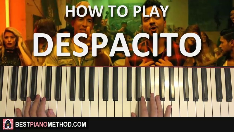HOW TO PLAY - Luis Fonsi - Despacito ft. Daddy Yankee (Piano Tutorial Lesson)