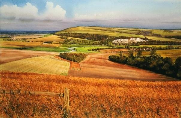 Художник Джо Френсис Доуден  очень известный английский художник-акварелист.