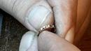 Нанесение алмазной грани на серьги