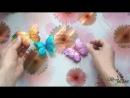 Бабочка из фоамирана промо ролик