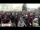 Беларусь. И снова красные куртки майдана 26.02.17 Витебск
