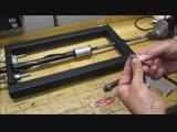 Homemade barrel rifling machine, rifling the Kolt380 barrel