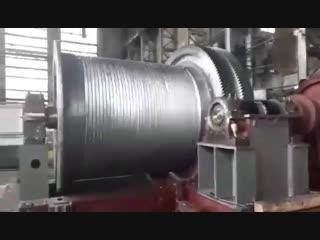 Скиповая лебёдка на 29 тонн