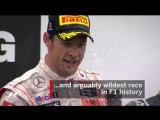2011 Canadian Grand Prix  Button Passes Vettel For Last-Gasp Win