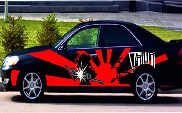 Бизнес-идея: рекламные наклейки на автомобиль  Мир вокруг постоянно