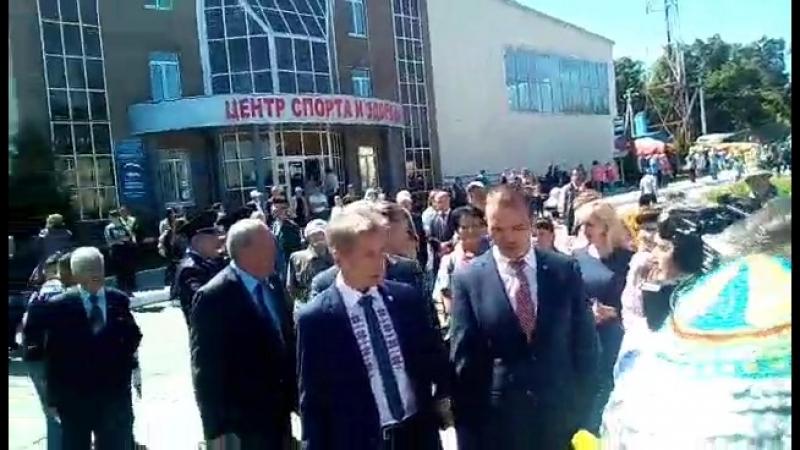 Михаил Игнатьев приехал на Акатуй таванен