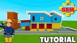 Minecraft Tutorial How To Make Fireman Sams Firehouse