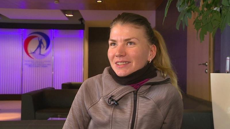 Виктория Сливко. Откровенное интервью лидера Кубка IBU о ходе сезона