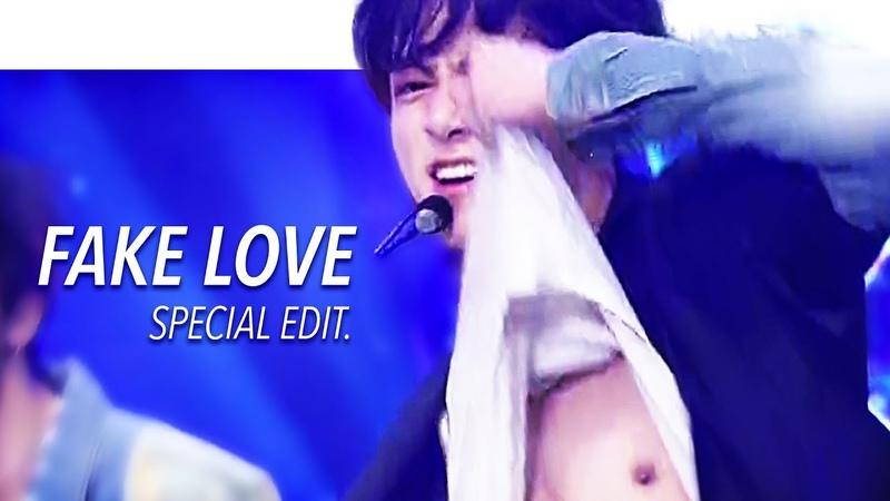 [LIVE] BTS (방탄소년단) FAKE LOVE Stage Mix(교차편집) Special Edit.