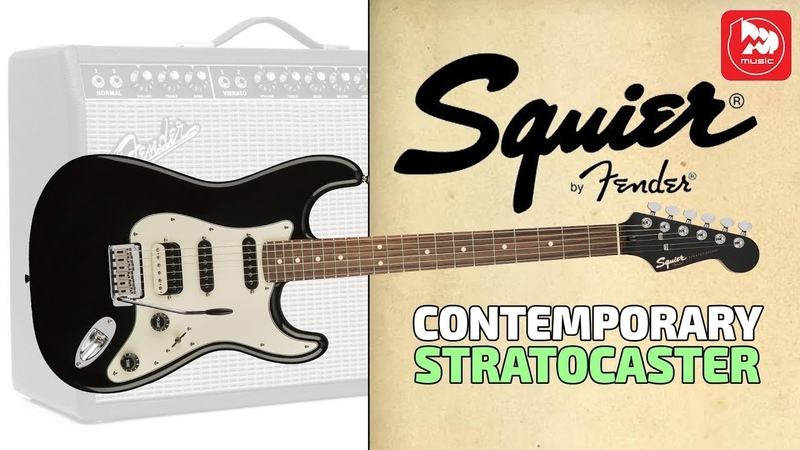 Новая электрогитара FENDER Squier Contemporary Stratocaster HSS