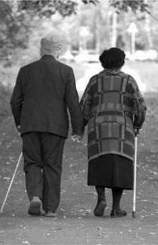 Стара закохана пара