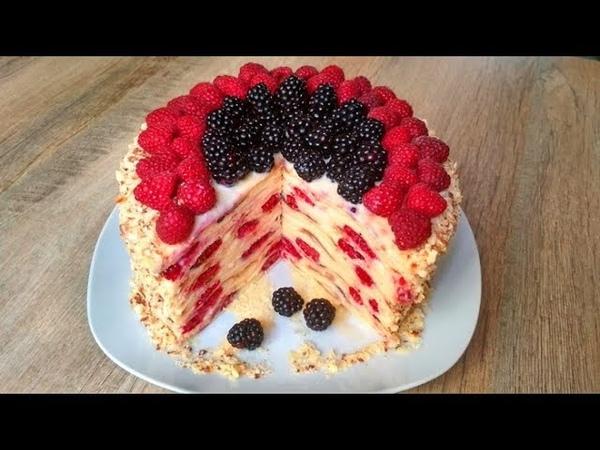 ТОРТ НА СКОВОРОДЕ! Нереально Вкусный Десерт в Домашних Условиях! Cake ON THE FLOOR