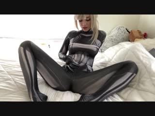 Metroid - bounty on samus (indigowhite) [game uncensored solo hentai masturbate toys porno sex latex cosplay]
