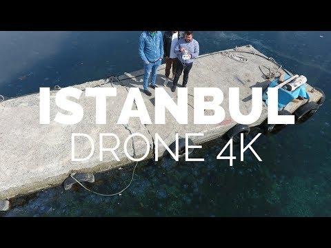İstanbul Zeytinburnu Sahili Havadan Çekim 4K