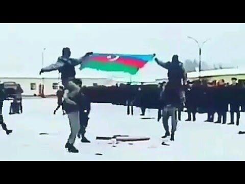 Azerbaycan Xüsusi Teyinatlıları..ermeni Bayrağini qirdi||AZƏRBAYCAN bayrağını qaldlrdı...