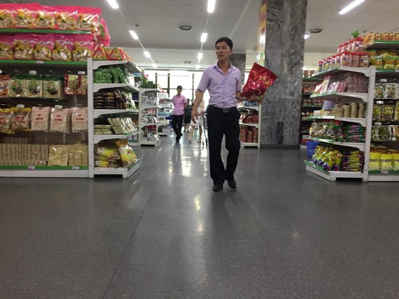 Обычный супермаркет