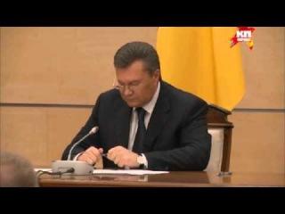 Витя всё! Это не показали на русских каналах и 112: истинное лицо Януковича hd720