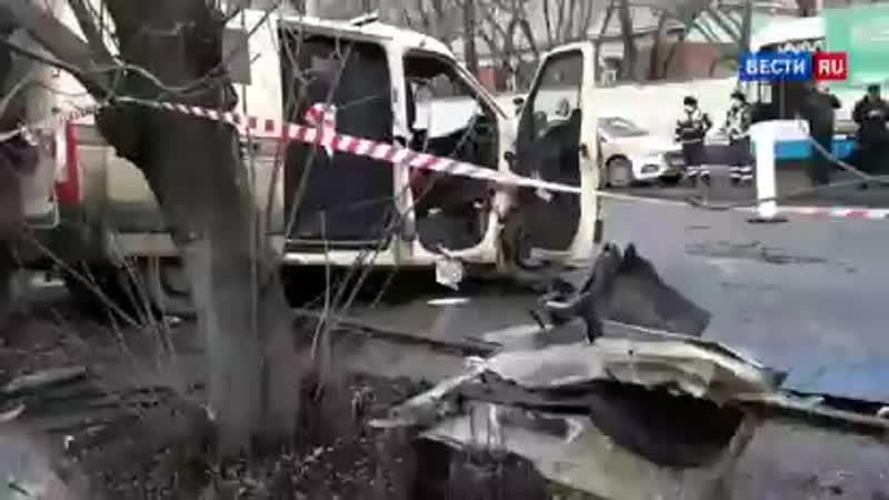 ВестиRu Один человек погиб в столкновении инкассаторской машины с грузовиком в Москве