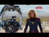 Видео со съёмок фильма Капитан Марвел