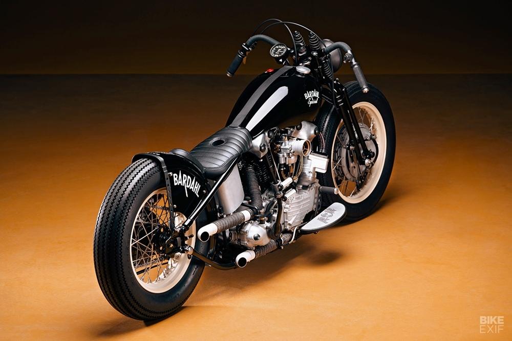 Ash Kustoms: боббер Harley-Davidson Panhead 1948