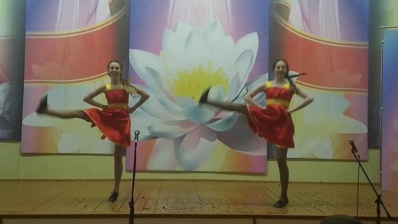 Танец Хуторянка (ГУО СШ №11 г.Новополоцка). Городской конкурс Лидер - Новое поколение