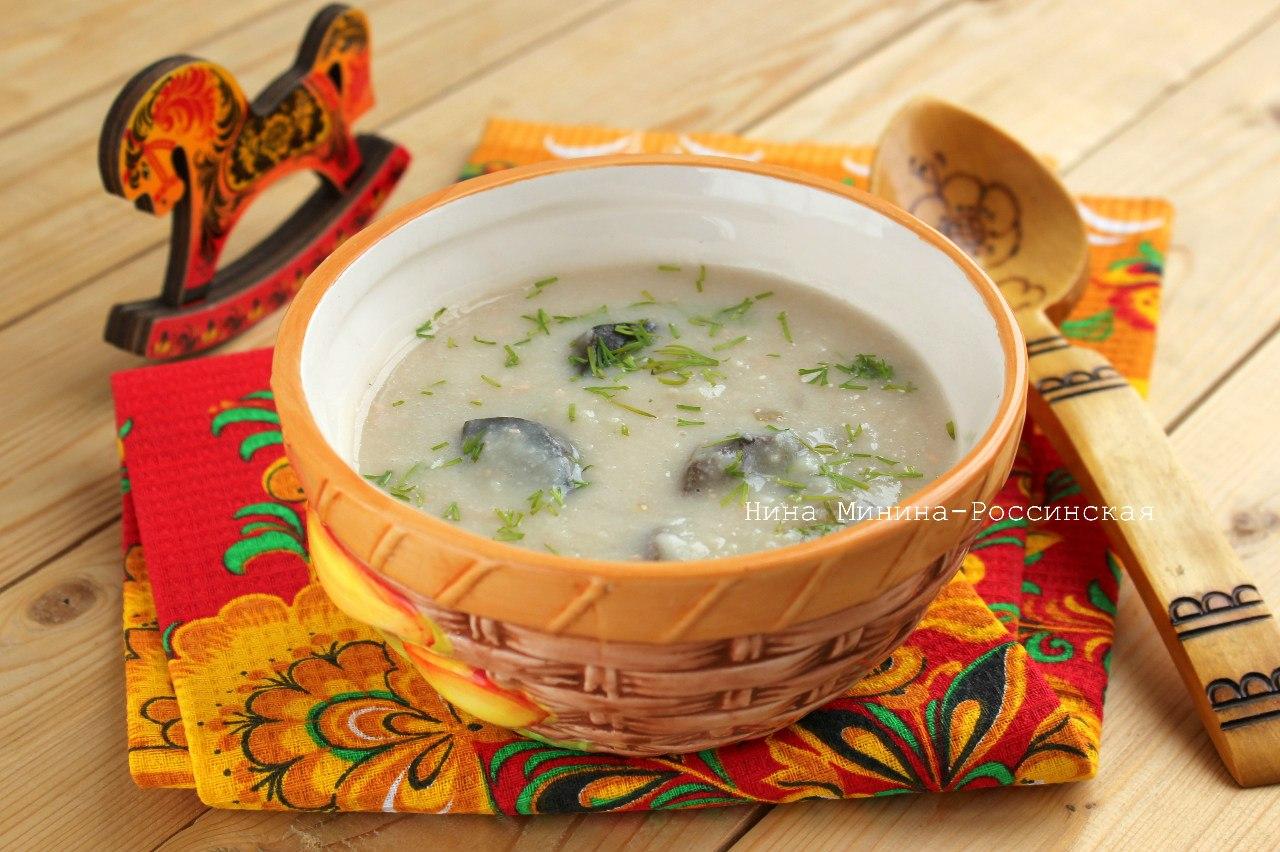 Суп с плавленным сыром с пошаговым