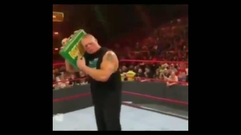 Брок Леснар слушает РЕВВУ