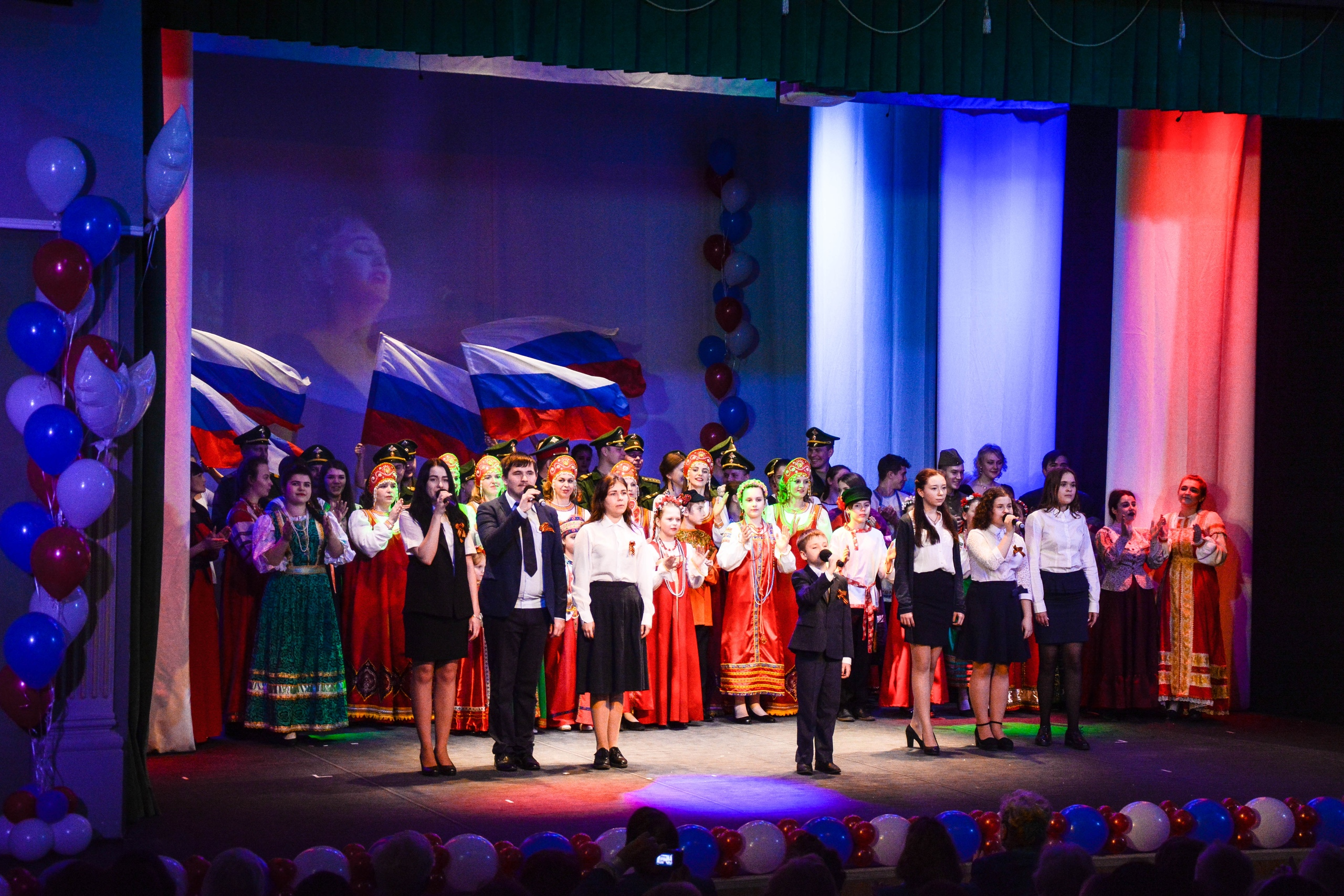 Гала-концерт Фестиваля патриотической песни-2019
