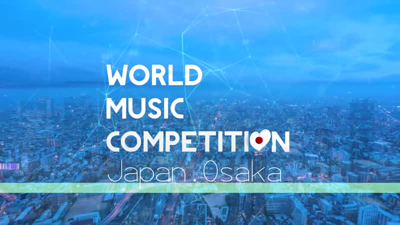 WORLD MUSIC COMPETITION. JAPAN. OSAKA. GRAND FINAL
