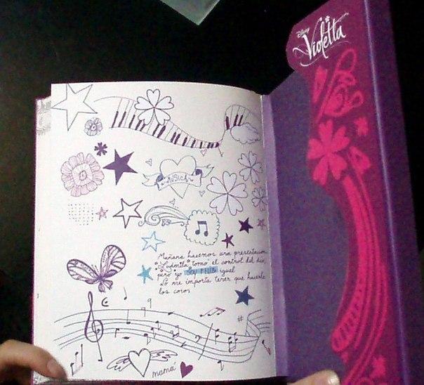 Записи из дневника виолетты на русском