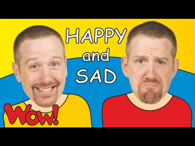 Happy and Sad for Kids Steve and Maggie Kids TV English for Children