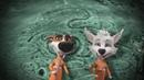 Белка и Стрелка Тайны космоса На Луне заставка клип