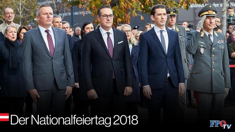 Das war der Nationalfeiertag 2018 mit HC Strache und Mario Kunasek!