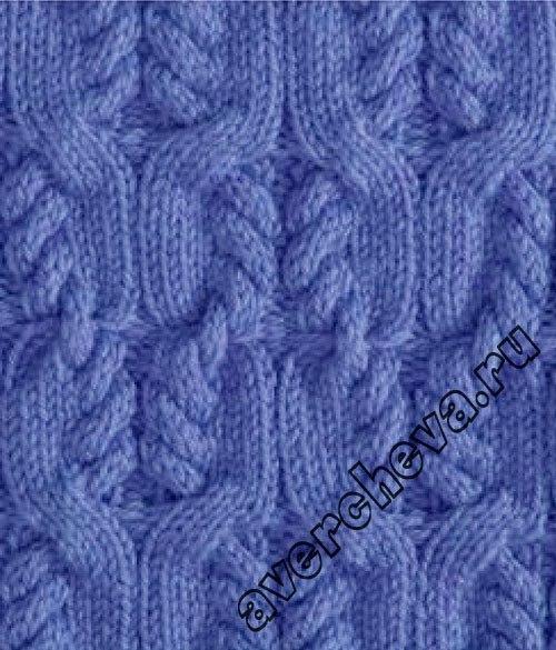Аранское вязание узор