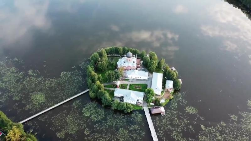 Свято-Введенский островной монастырь, г. Покров