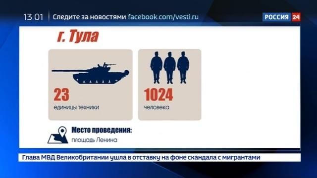 Новости на Россия 24 • На сайте МО РФ появилась интерактивная карта празднования Дня Победы