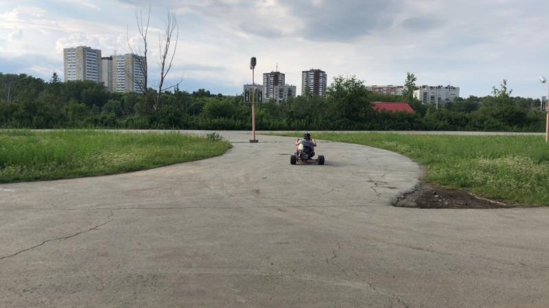 Drift Trike на Уктусе