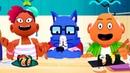 ТОКА КУХНЯ СУШИ 1 в ГОТОВКА ЧЕЛЛЕНДЖ Мультяшная игра для детей Игровой мультик Toca Kitchen Sushi