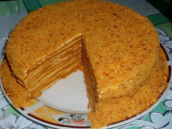 Торт на сковороде торт медовик рецепт пошагово