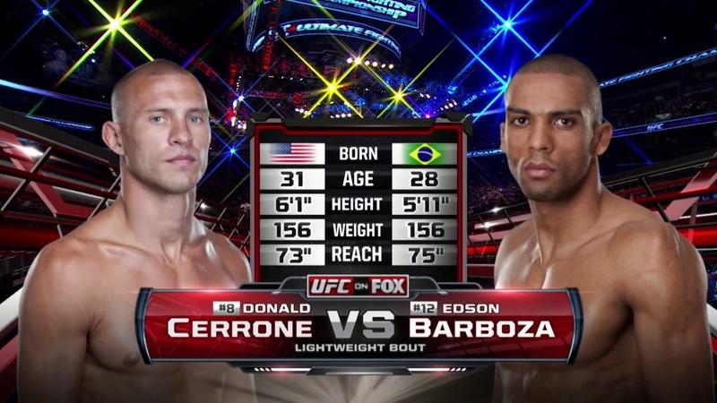 Fight Night Singapore Free Fight: Donald Cerrone vs Edson Barboza fight night singapore free fight: donald cerrone vs edson barb