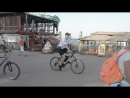 Полицейские на велосипедах охраняют общественных порядок в Феодосии