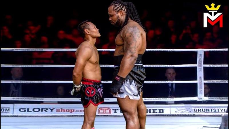 Saenchai vs Titan - Biggest Muay Thai Fighter Of All Time!