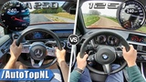 Mercedes A Class A250 2019 vs 2019 BMW 1 Series 125i  ACCELERATION TOP SPEED &amp POV by AutoTopNL
