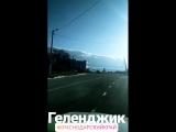 Геленджик Облака на горах прекрасный вид
