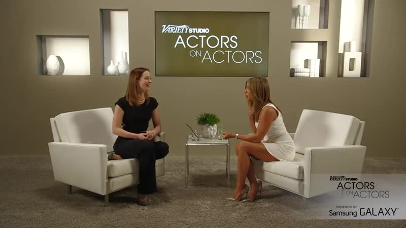 Actors on Actors׃ Jennifer Aniston and Emily Blunt