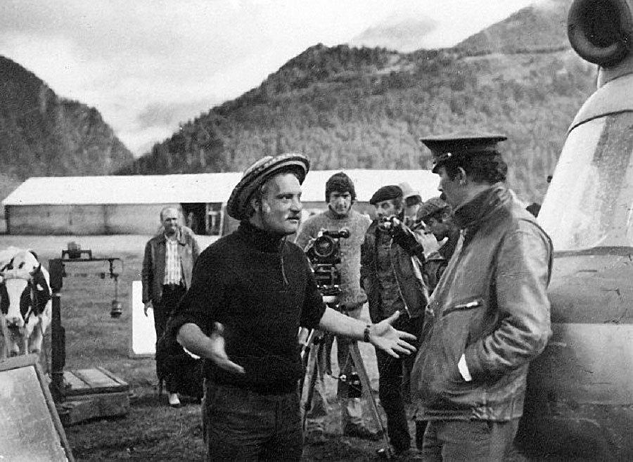 Фотографии со съёмок знаменитых советских фильмов