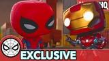 Spidey's Struggle is Real Marvel Funko Presents Magnet Mayhem (stars Spider-Man, Iron Man)