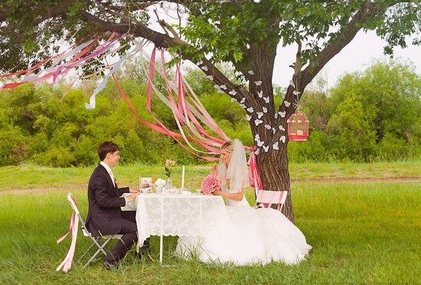 Свадебная фотосессия декорации